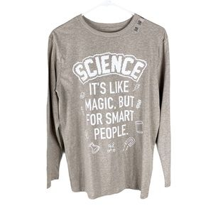 The Children's Place Kids Science Pun T shirt new